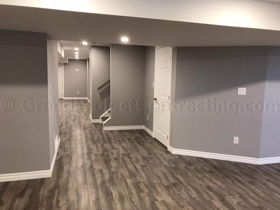 Basement finishing milton basement finishing oakville for Finishing basement cost calculator